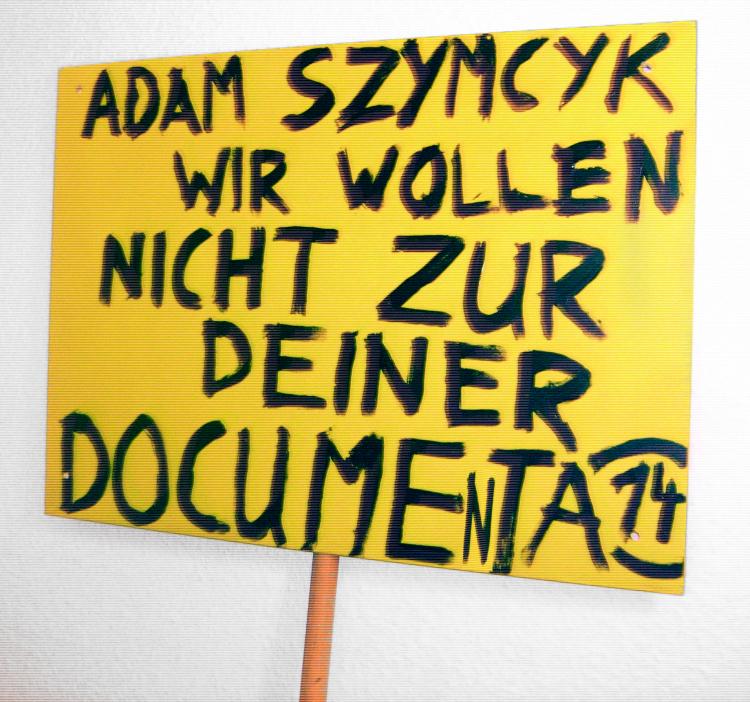 Daniel Chluba wollte nicht zur documenta