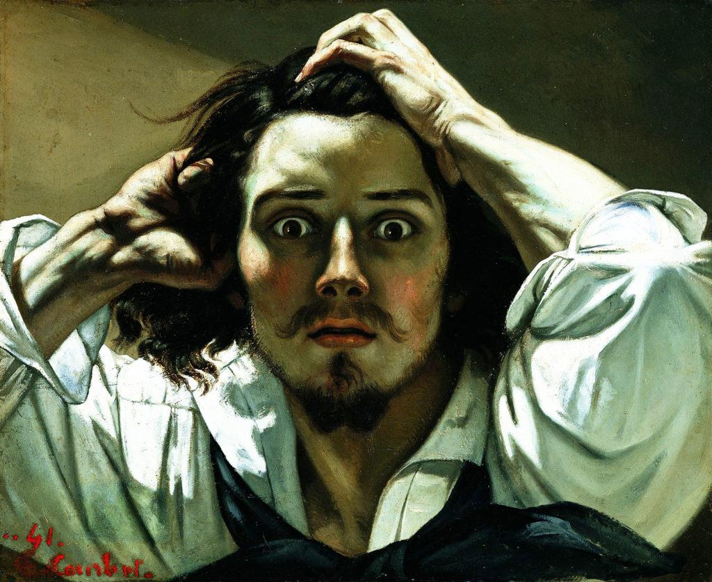 Courbet und der dramatisch inszenierte Selbstzweifel