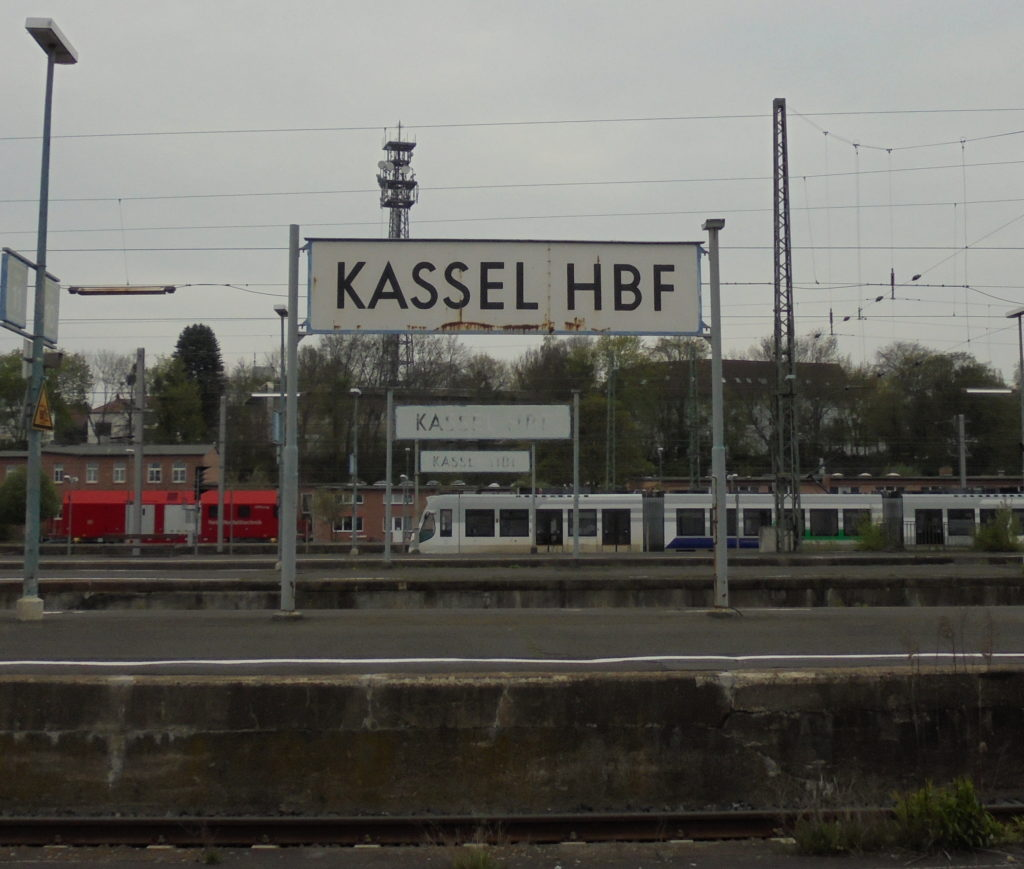 "Der Kasseler Hauptbahnhof trägt den stolzen Titel ""Kulturbahnhof"". Na ja. Foto: Christian Saehrendt 2017."