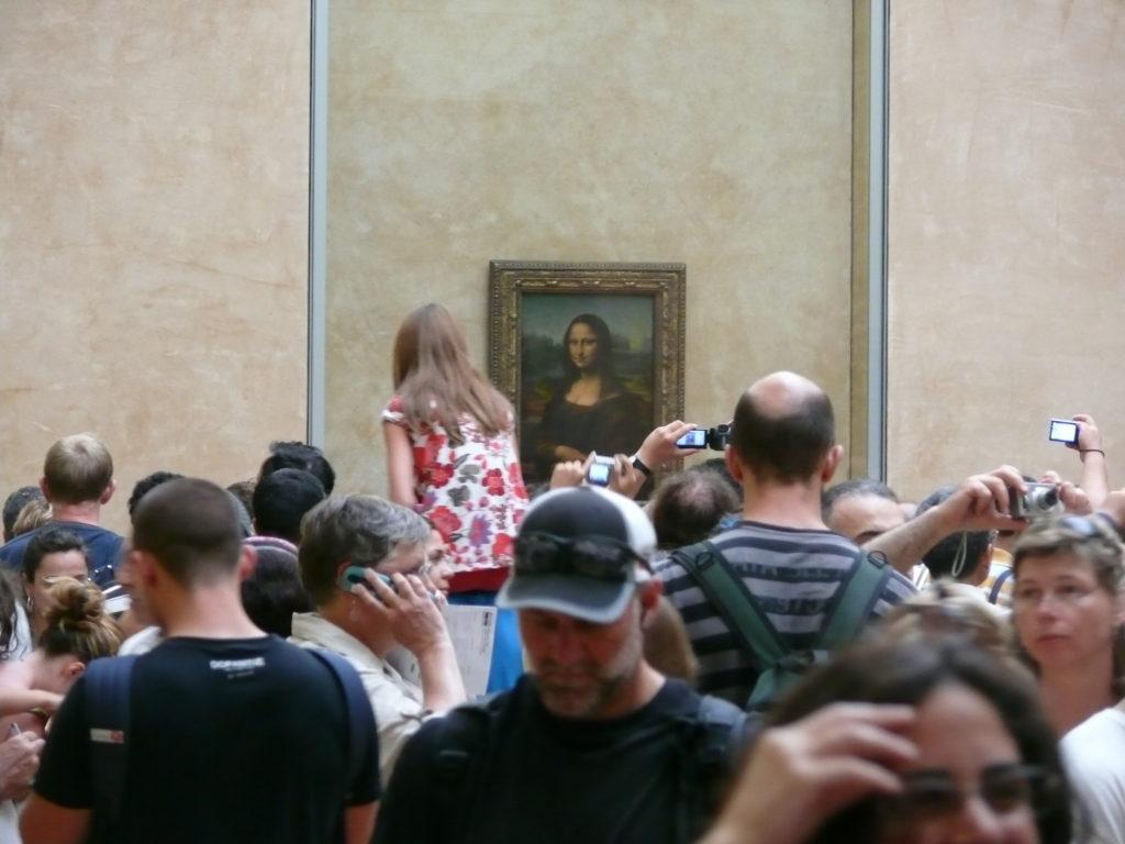 Mona Lisa Massenansturm im Louvre
