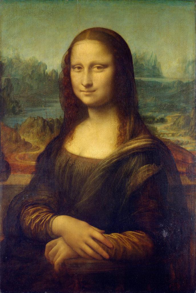 Mona Lisa: Leonardo da Vinci, La Gioconda (1503-1506), Musée du Louvre