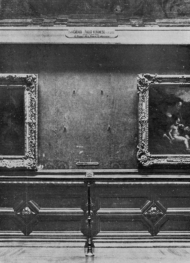 Mona Lisa gestohlen