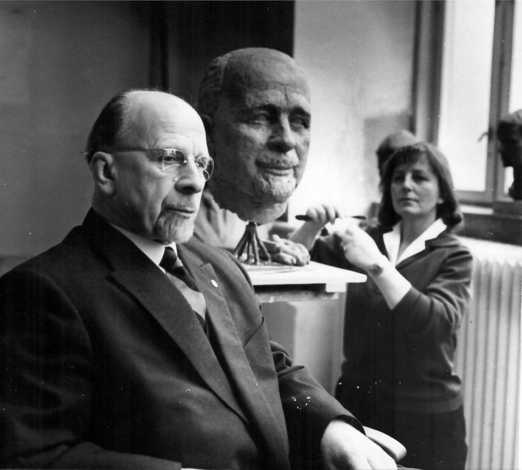 Arno Breker war den Kommunisten nicht zu Diensten, dafür seine Schülerin Ruthild Hahne. Hier porträtierte sie Walter Ulbricht.