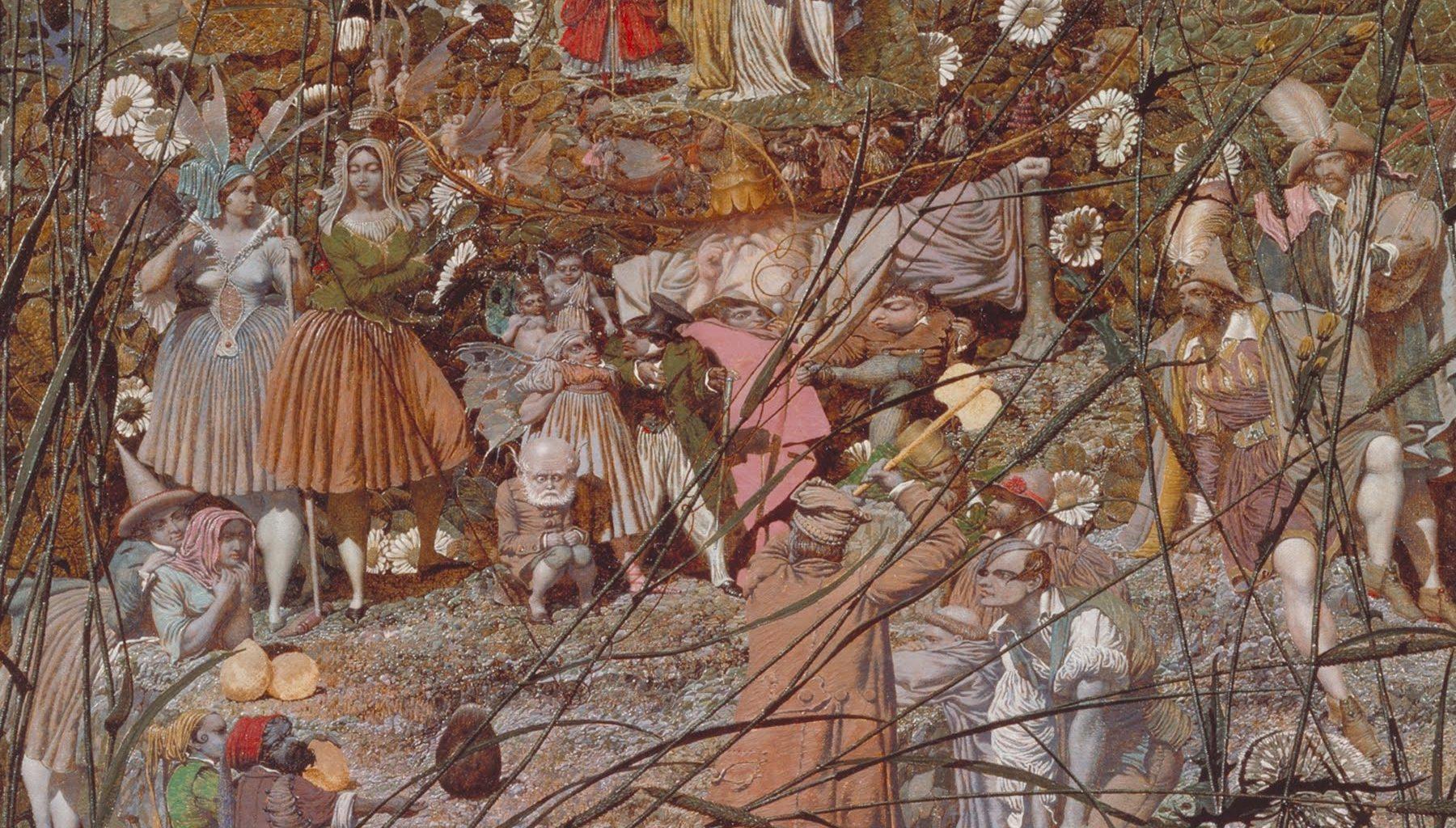 Richard Dadd, Der Meisterstreich des hexenden Holzfällers, zwischen 1855 und 1864