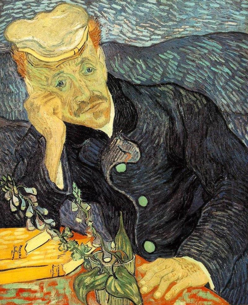 "Vincent van Gogh ""Dr. Gachet"" – erste Version (Sammlung Saito)"