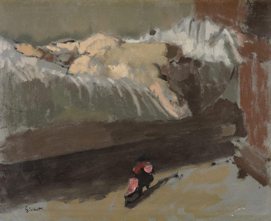 "Walter Sickert ""The Red Shoe"", ca. 1904"