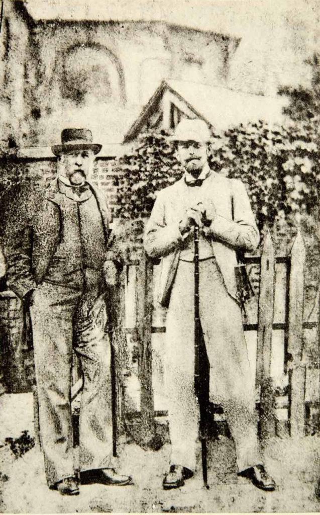 Edgar Degas und Walter Sickert. War letzterer Jack the Ripper?