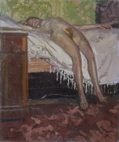 """Walter Sickert """"Reclining Nude"""" von 1906"""