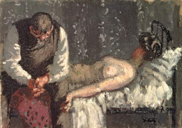 "Walter Sickert ""Camden Murder"" ca. 1908"