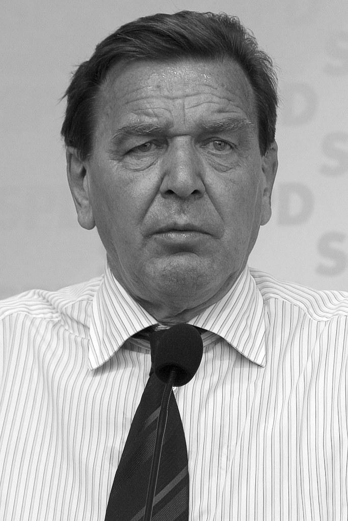 Gerhard Schröder war ein Fan von Immendorff.