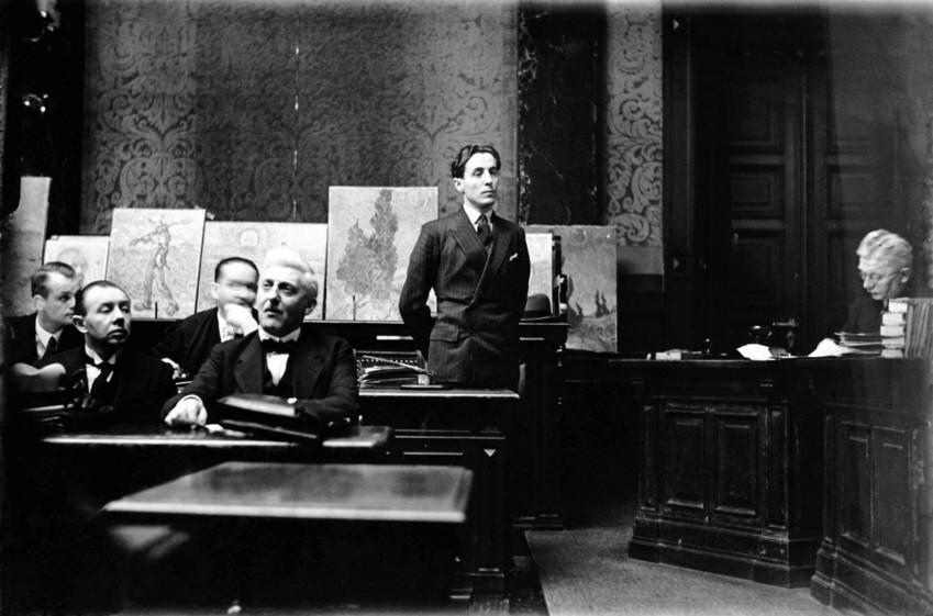 Kunstexperten blamierten sich vor Gericht: Der Wacker-Prozess in Berlin 1931.