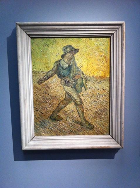 """Van Gogh und seine Fälscher: Hier Leonard Wackers """"Sämann"""""""