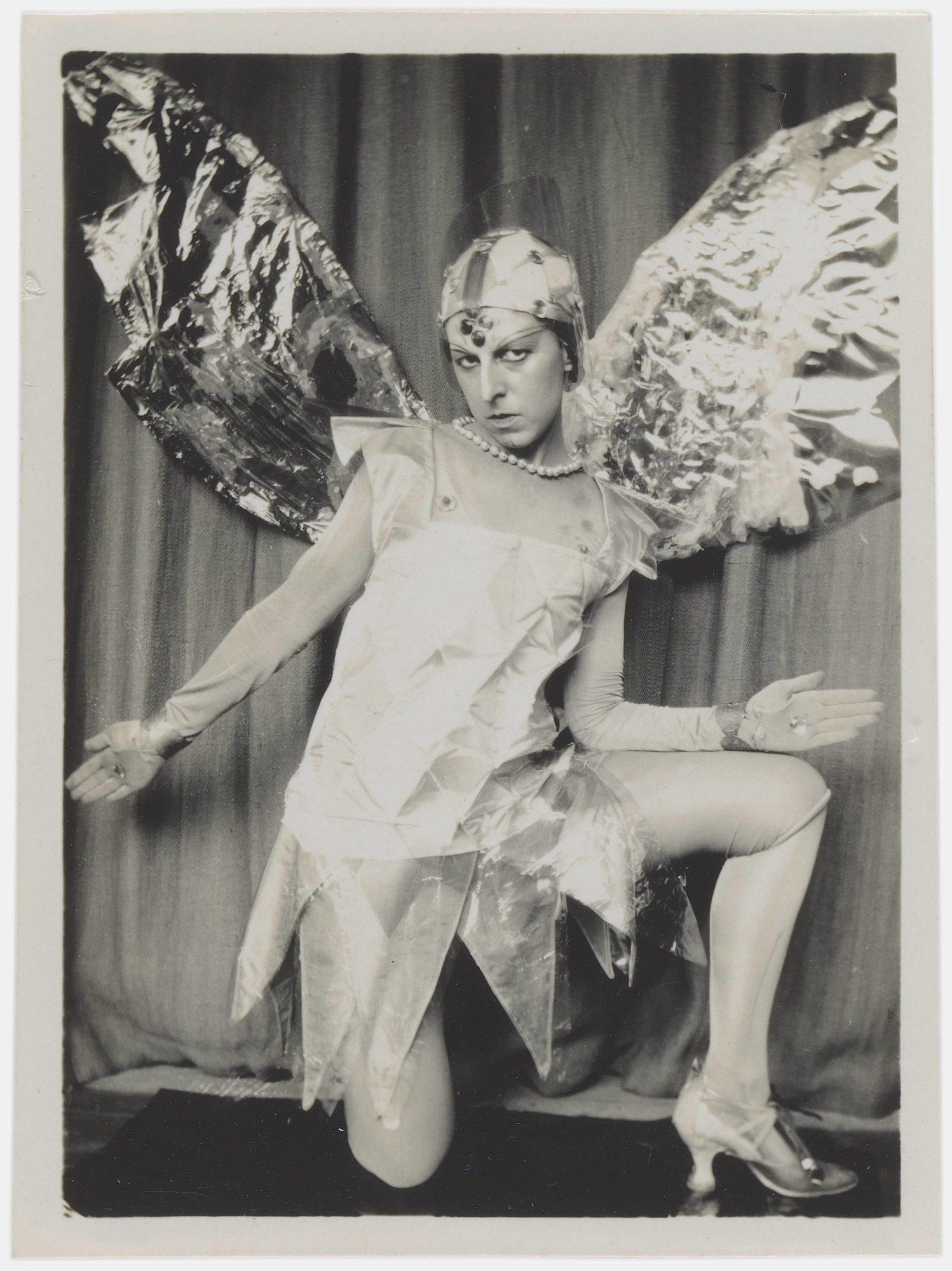 Claude Cahun, Ohne Titel (Claude Cahun in Das Mysterium Adams), 1929