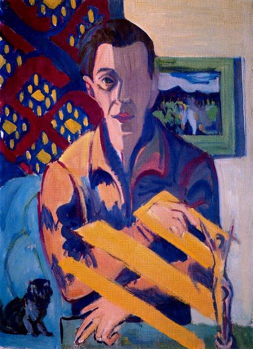 Ernst Ludwig Kirchner: Sein letztes Selbstporträt 1937/38
