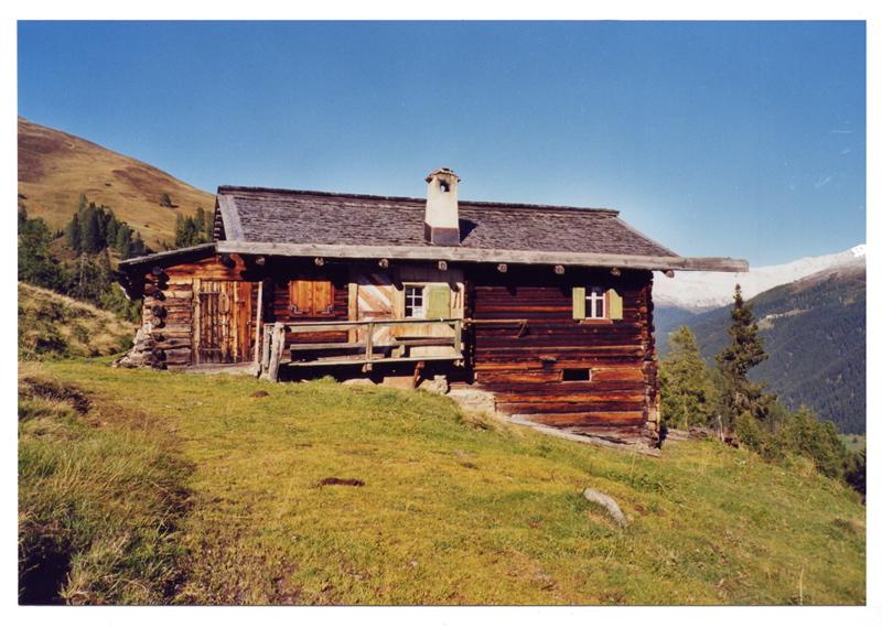 Ernst Ludwig Kirchner: Kalter Entzug auf der Alp 1923. Foto: Christian Saehrendt, Davos 2001.
