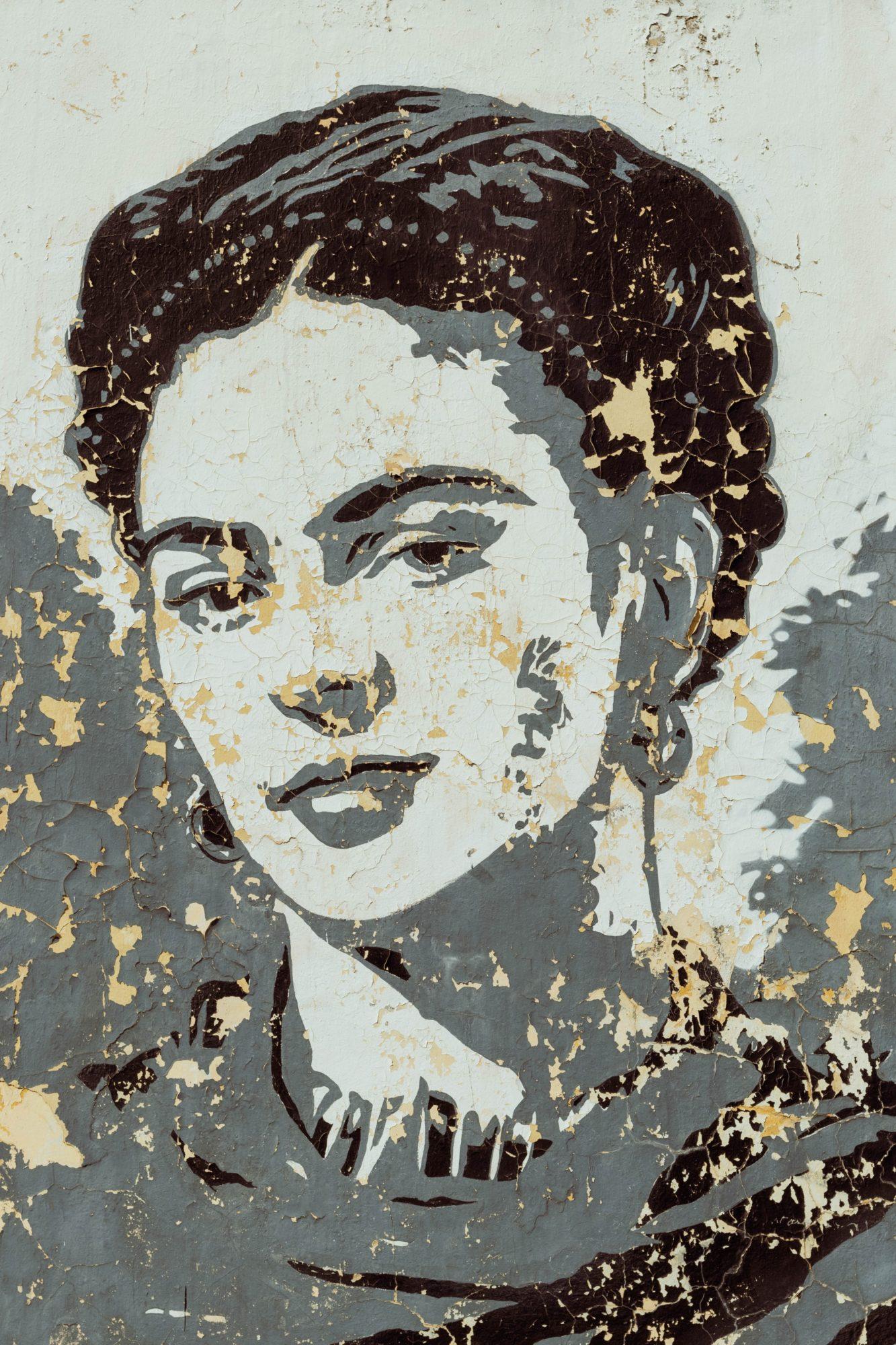 Frida Kahlo: Fans hat sie auch unter Street Artists.