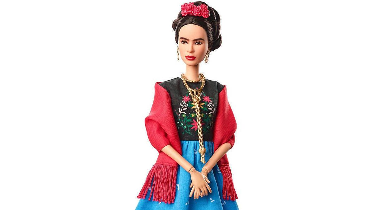 Frida Kahlo Barbie Puppe: Barbie FJH65 von Mattel