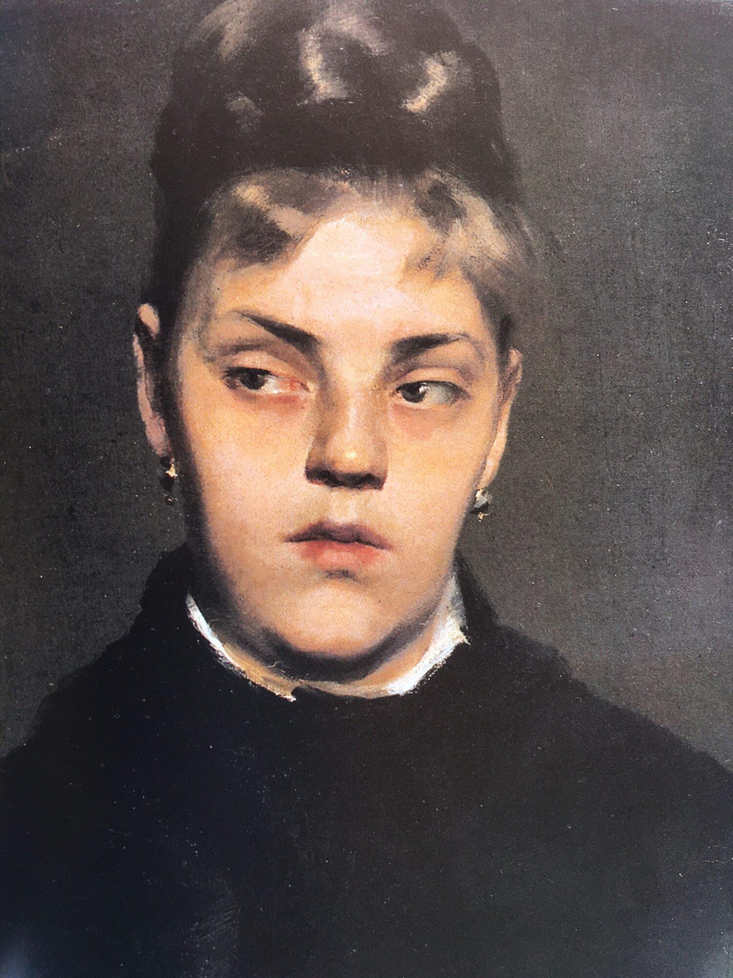 Clara von Rappard, Bildnis einer jungen Frau, o. J. Privatbesitz