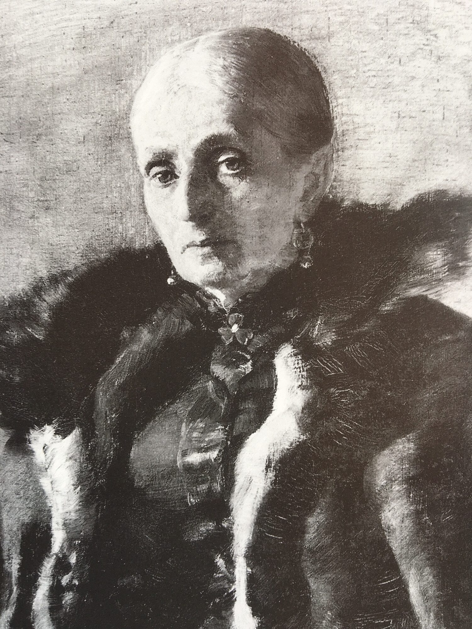 Clara von Rappard, Frau Fabrice, 1885, Privatbesitz.