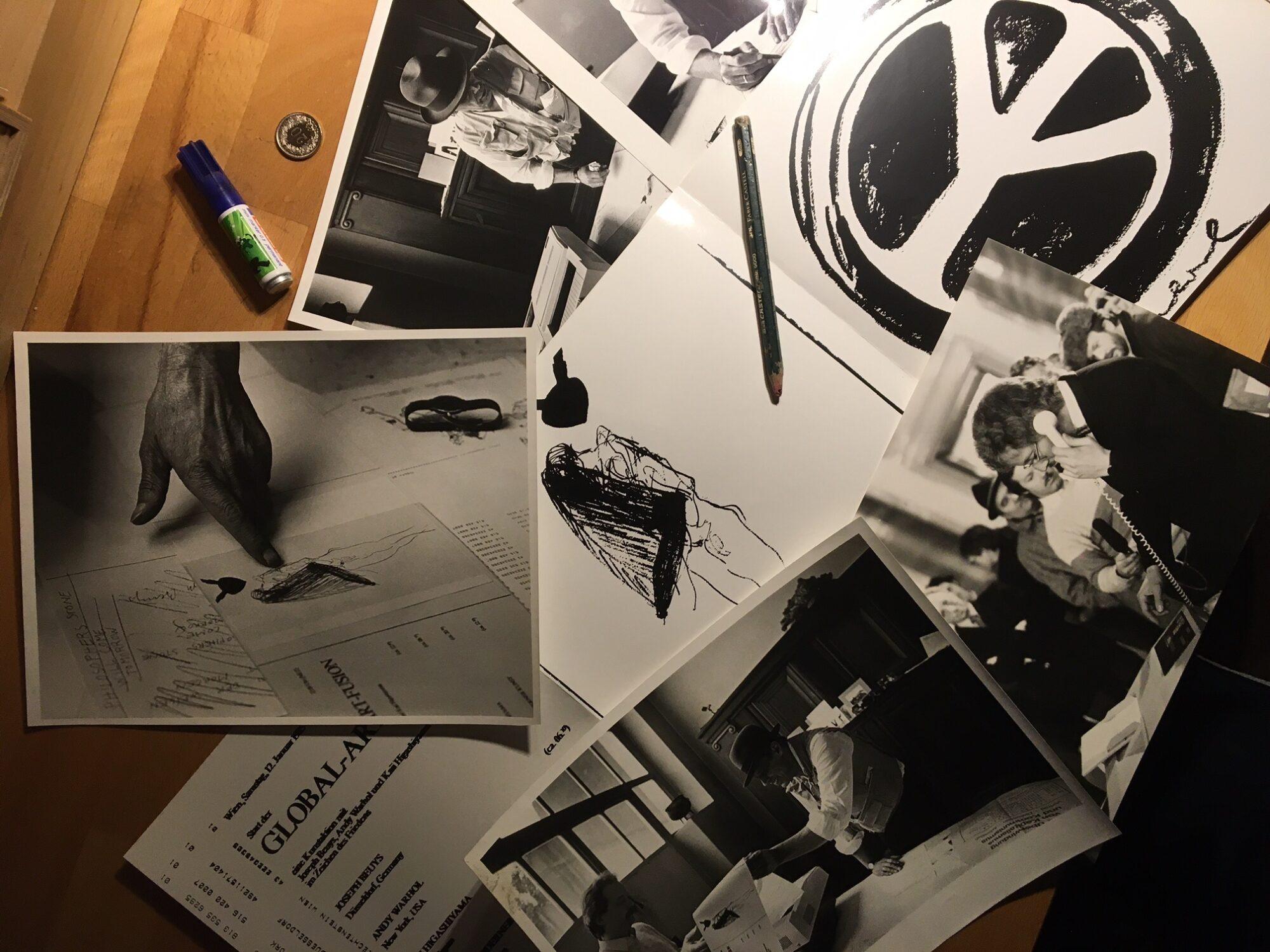 Beuys jagt Bild um den Erdball – Das Projekt Global Art Fusion von Ueli Fuchser. Materialien zur Aktion.