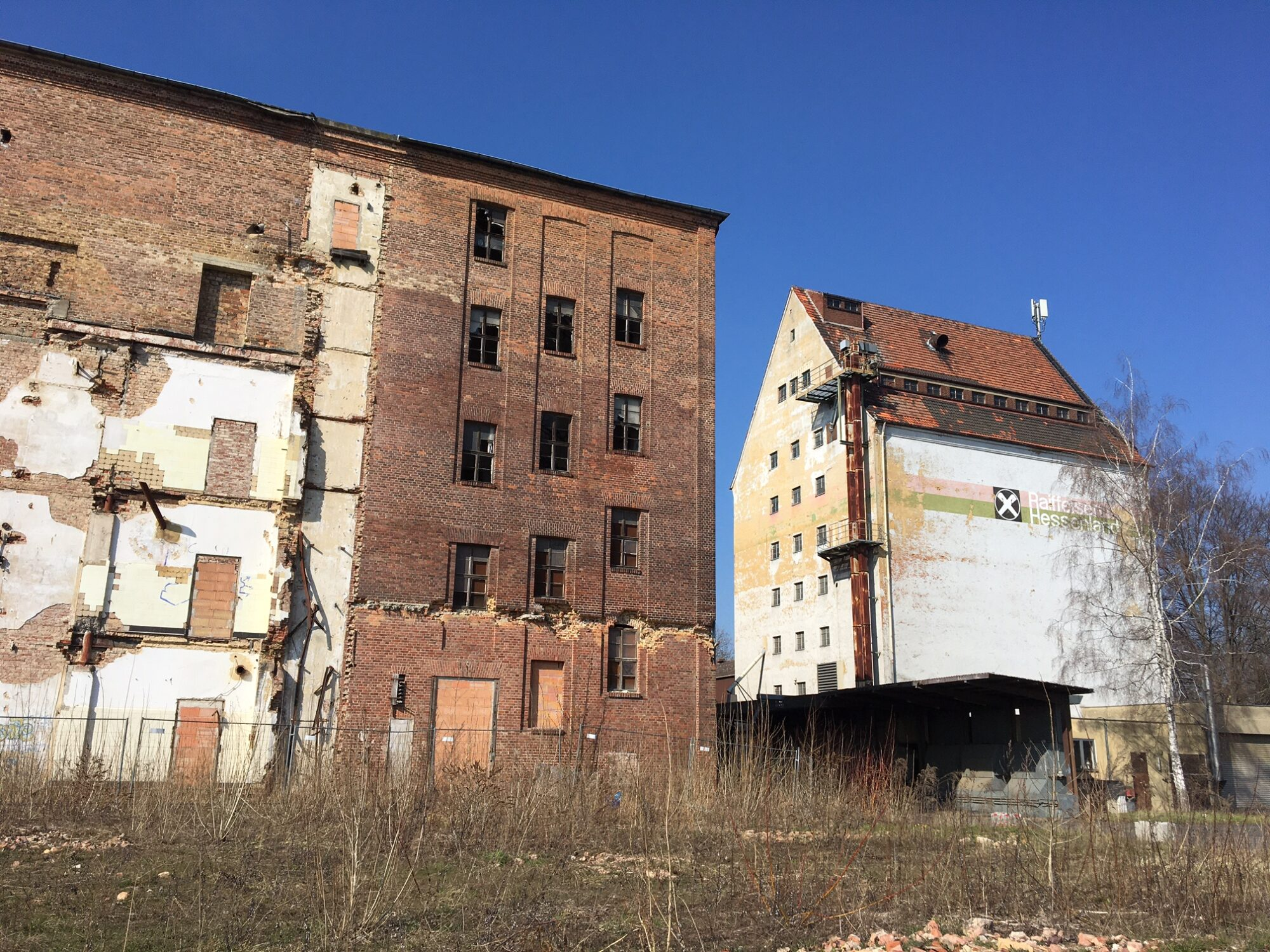 Lost places in Kassel: Industriebrache in Bettenhausen. Foto: Christian Saehrendt