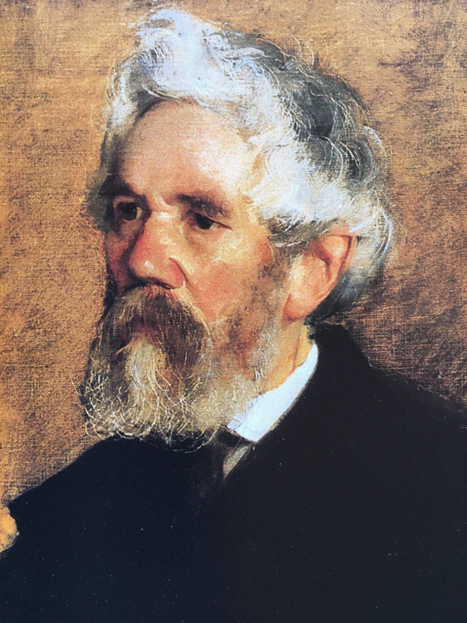 Conrad von Rappard – gemalt von Clara von Rappard 1877/78. Privatbesitz.