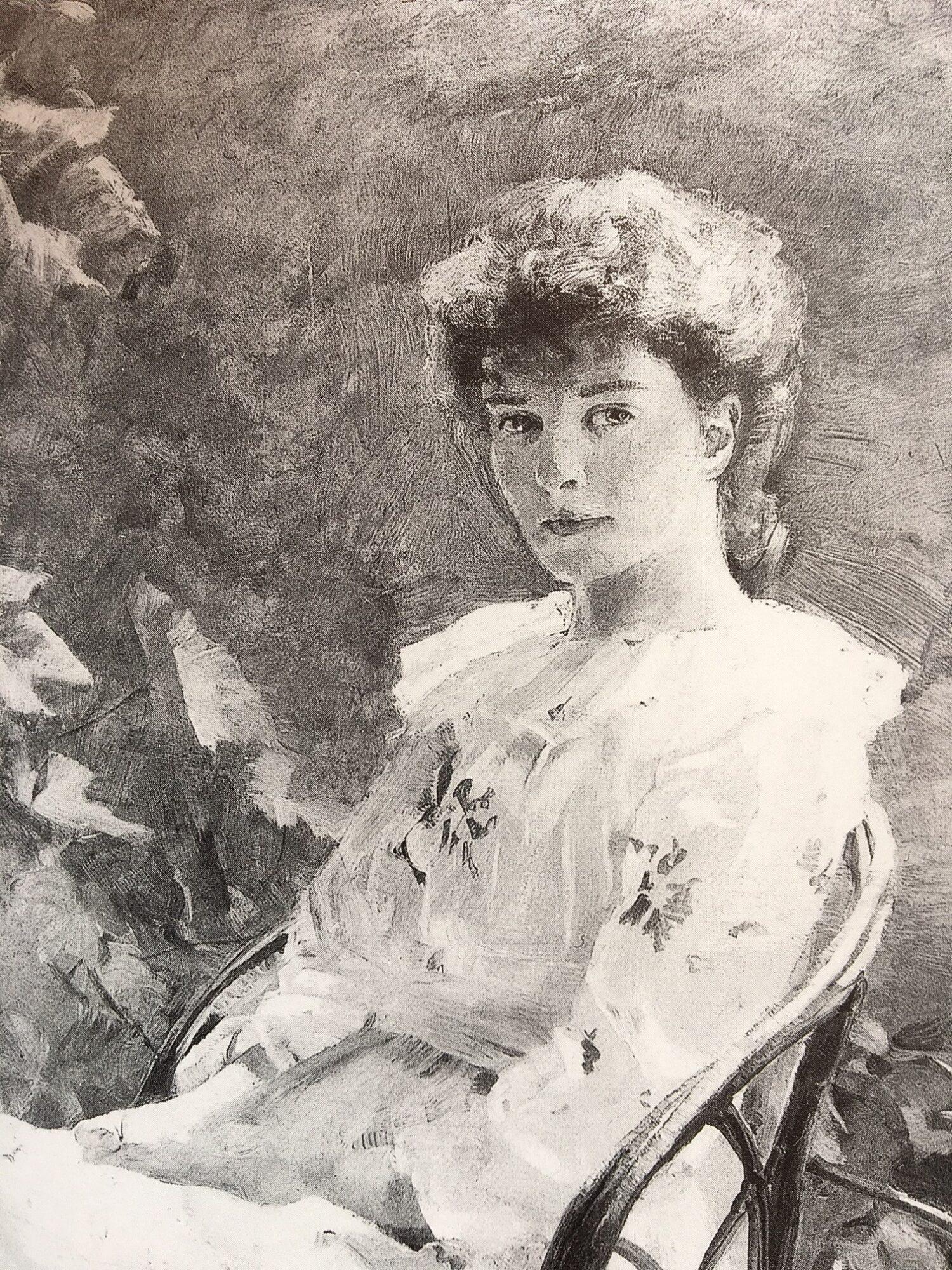 Miss Small im Schatten – Clara von Rappard.