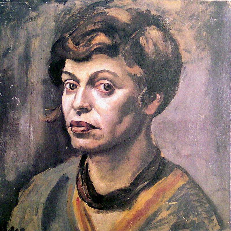 Elfriede Lohse-Wächtler, Selbstporträt, 1930.