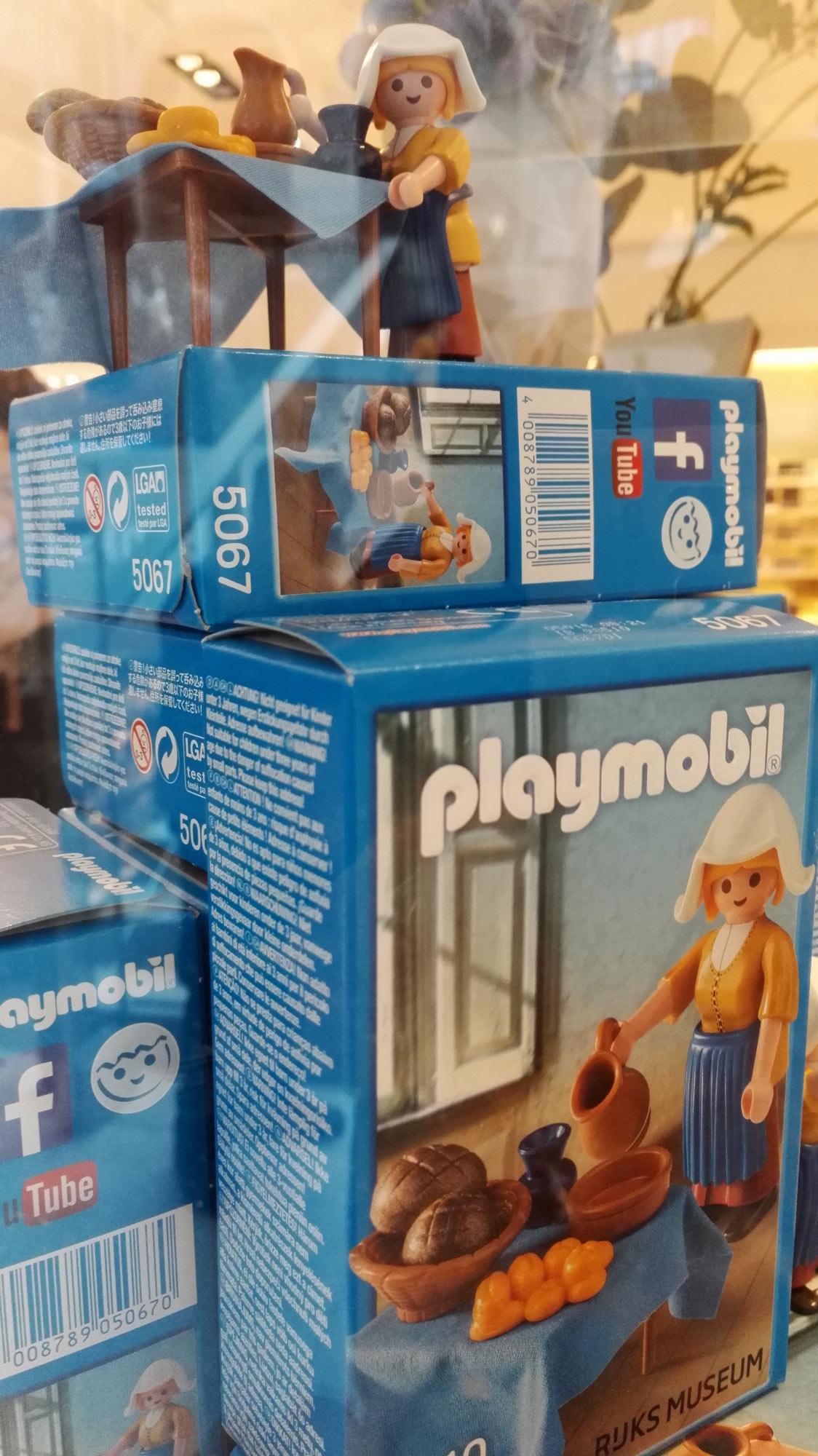 Vermeer Kunstliebe in Playmobilform