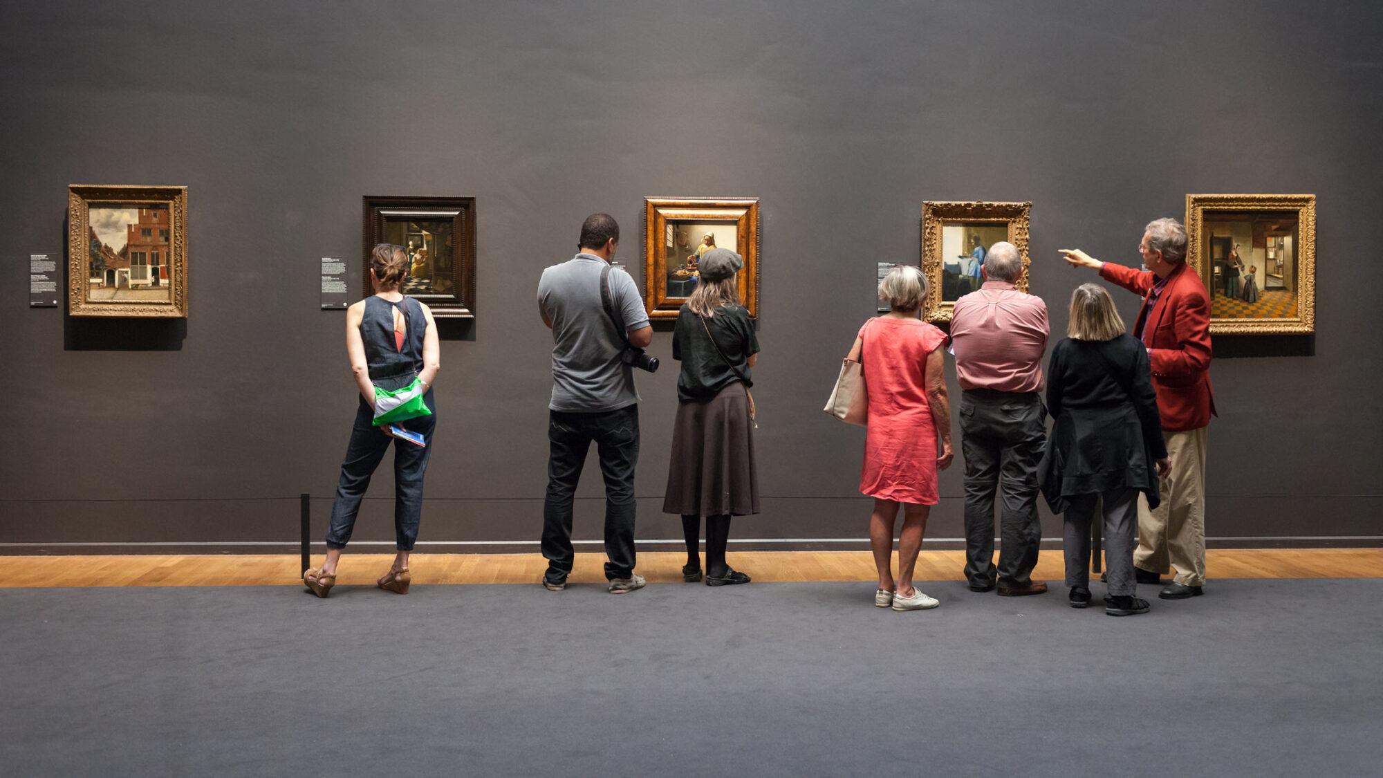 Kunstliebe in Amsterdam. Vermeers Gemälde