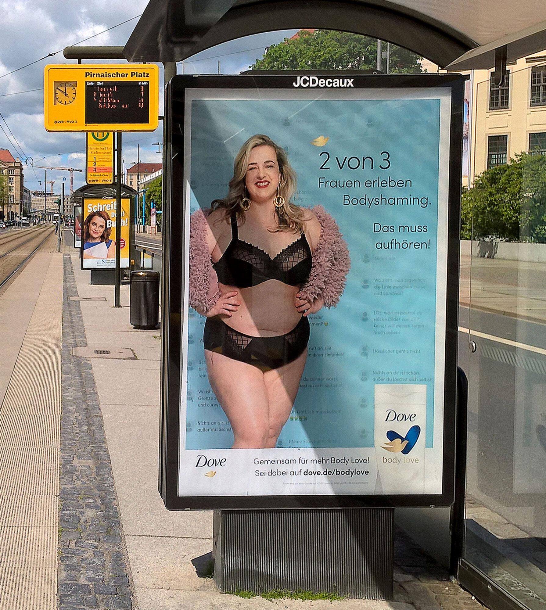 Kampagne gegen Body Shaming und für Body Positivity