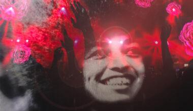 Angela Davis rote Ikone